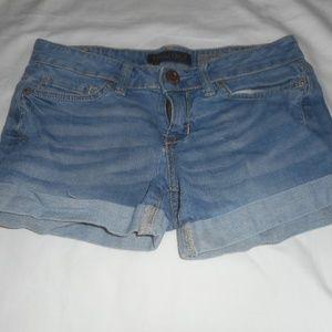 Aeropostale Midi Stretch Shorts